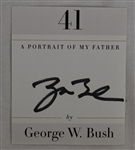 George H.W. Bush Autographed Bookplate