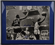 Bill Russell & Tom Heinsohn Autographed Framed 16x20 Photo