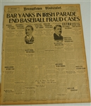 1919 Black Sox Aquitted Newspaper