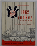 New York Yankees 1962 Team Signed Yearbook w/30 Signatures Including Mantle & Maris