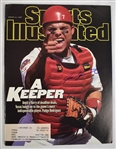 "Iván ""Pudge"" Rodríguez Autographed  Sports Illustrated Magazine"