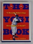 """The Yogi Book"" Hard Cover Book Signed by Yogi Berra"