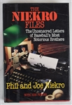 """The Niekro Files"" Hard Cover Book Signed by Phil Niekro & Joe Niekro"