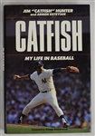 """Catfish, My Life in Baseball"" Hard Cover Book Signed by Jim Catfish Hunter"