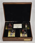1993 Classic Four Sport Gold Collection in Original Wooden Box w/Alex Rodriguez