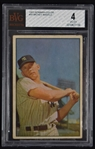Mickey Mantle 1953 Bowman Color BVG 4