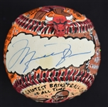 Michael Jordan One-Of-A-Kind Charles Fazzino Baseball UDA