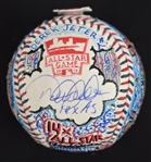Derek Jeter One-Of-A-Kind Charles Fazzino Baseball
