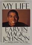 """My Life"" Hard Cover Book Signed by Earvin Magic Johnson"
