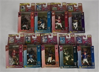 Collection of 9 Topps 1999 Action Flats w/Randy Moss