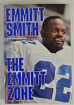 """The Emmitt Zone"" Hard Cover Book Signed by Emmitt Smith"