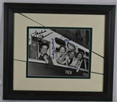 The Honeymooners Cast Signed Framed 8x10 Photo