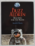 """Reaching for the Moon"" hard cover book signed by Buzz Aldrin and artist Wendell Minor"