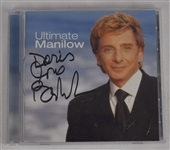 "Barry Manilow Autographed ""Ultimate Manilow"" CD"