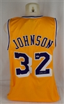 Magic Johnson Autographed Los Angles Lakers Jersey
