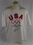 Bruce Jenner Autographed 1976 US Olympic Team Shirt