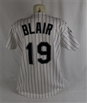 Willie Blair 1994 Colorado Rockies Professional Model Jersey w/Team LOA