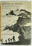 """Routes & Rocks"" 1965 Hard Cover 4th Edition Copy by The Mountaineers"