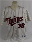 Dave Winfield 1993 Minnesota Twins Game Used Jersey w/Dave Miedema LOA