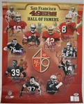 San Francisco 49ers Legends Autographed 16x20 Photo