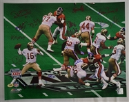 San Francisco 49ers Super Bowl XXIV Autographed Photo