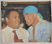 Hulk Hogan Autographed 16x20 Photo