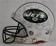 New York Jets 2004 Autographed Full Size Riddell Helmet