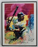 Dave Winfield Autographed & Framed Limited Edition Lithograph