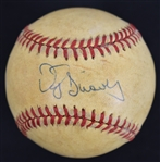 Darryl Strawberry c. 1983-86 Autographed Game Used National League Baseball