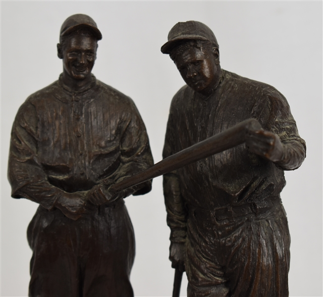 Babe Ruth & Lou Gehrig Sculpture