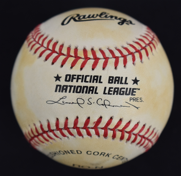 Buzz Aldrin Autographed Baseball