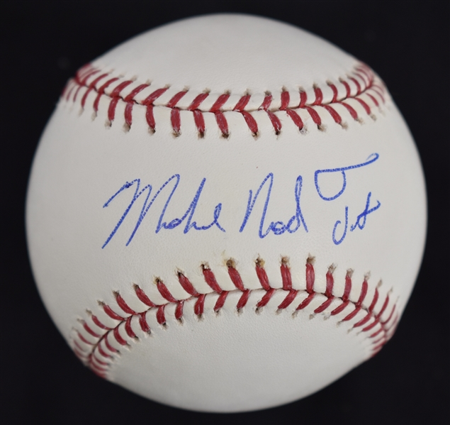 Michael Nelson Trout RARE Autographed Full Name Baseball