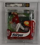 Bryce Harper 2013 McFarlane Sportspicks MLB Series 31 Figure Professionally Graded AFA 9.0