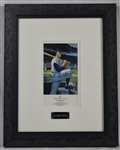Mickey Mantle Autographed Limited Edition Display From Greer Johnson Collection