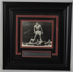 Muhammad Ali Autographed & Framed Limited Edition Photo