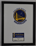 Steph Curry Autographed Framed Jersey/Shirt w/GSW COA