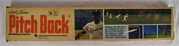 Hank Aaron 1970-71 Pitchback Pitching Device