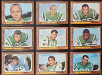 Vintage 1966 Topps Football Card Set Complete w/Funny Ring Cards
