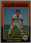 Robin Yount 1975 Topps Rookie Card #223