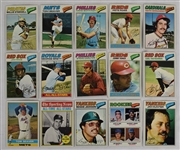 Collection of 15 Vintage 1976-77 Topps Cards w/Tom Seaver