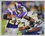 Adrian Peterson Autographed 16x20 Photo