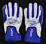 Elijah Dukes 2006 Professional Model Autographed Batting Gloves w/Medium Use