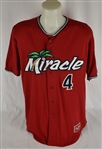 Byron Buxton Ft. Myers Game Used Jersey w/Team LOA
