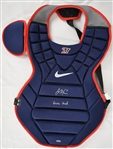 Joe Mauer Game Used & Autographed Catchers Gear