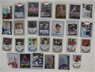 Collection of 27 Autographed Insert Cards