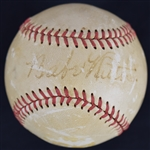 Babe Ruth Single Signed Baseball PSA/DNA LOA