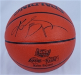 Kobe Bryant 2000 NBA Finals Autographed Game Basketball