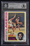 Kareem Abdul-Jabbar Autographed Card Beckett Authentication