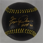 Fergie Jenkins Autographed Limited Edition Black Baseball