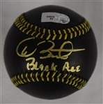 Dave Stewart Autographed Limited Edition Black Baseball